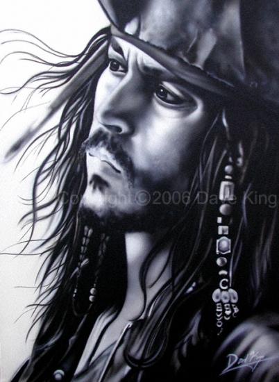 Johnny Depp by superchickenn123